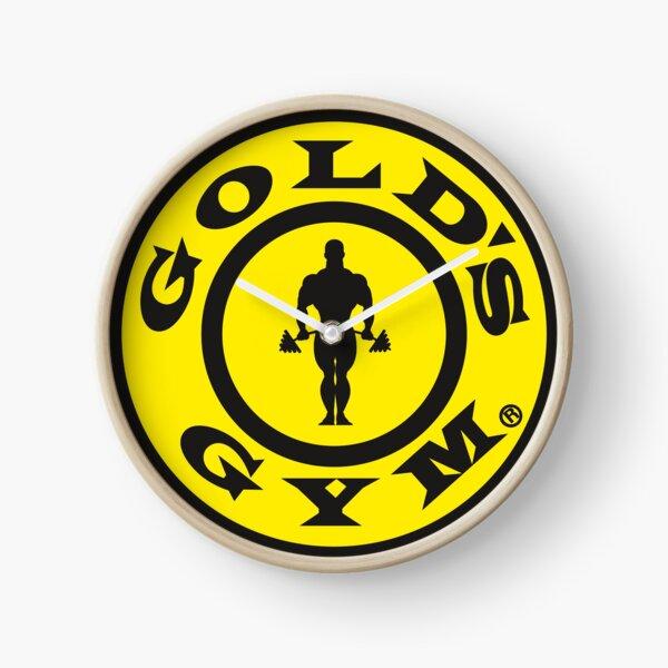 Gold's Gym Clock