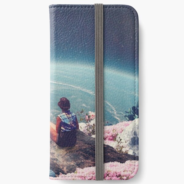 My World Blossomed when I Loved You iPhone Wallet