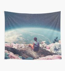 My World Blossomed when I Loved You Tapestry