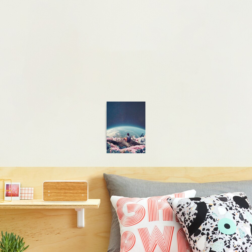 My World Blossomed when I Loved You Photographic Print