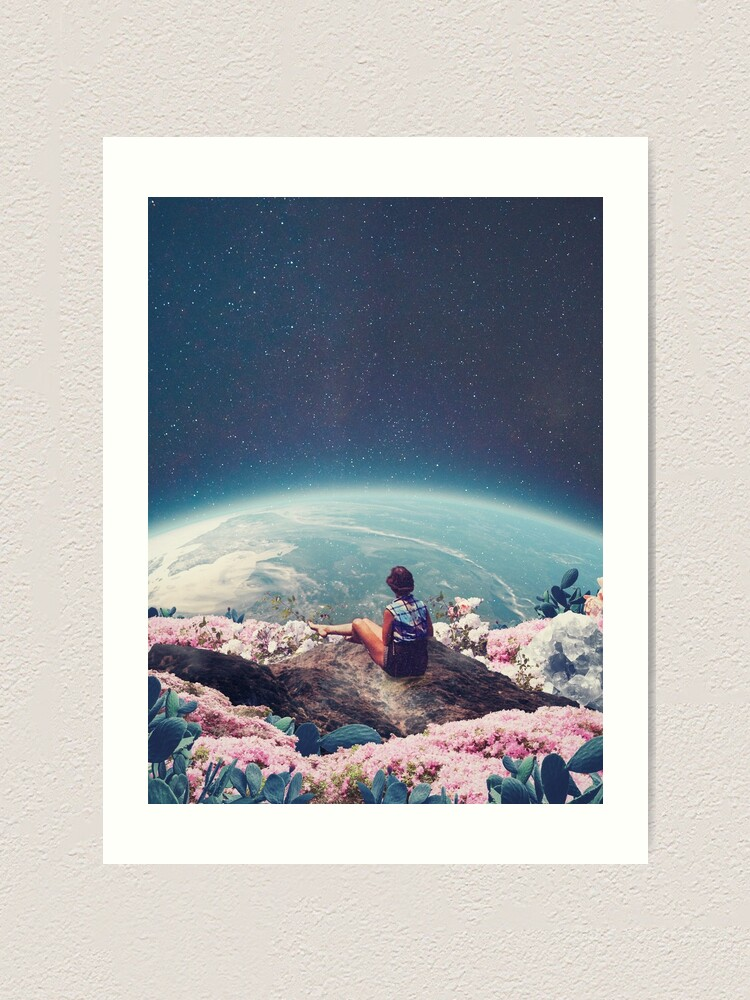 Alternate view of My World Blossomed when I Loved You Art Print