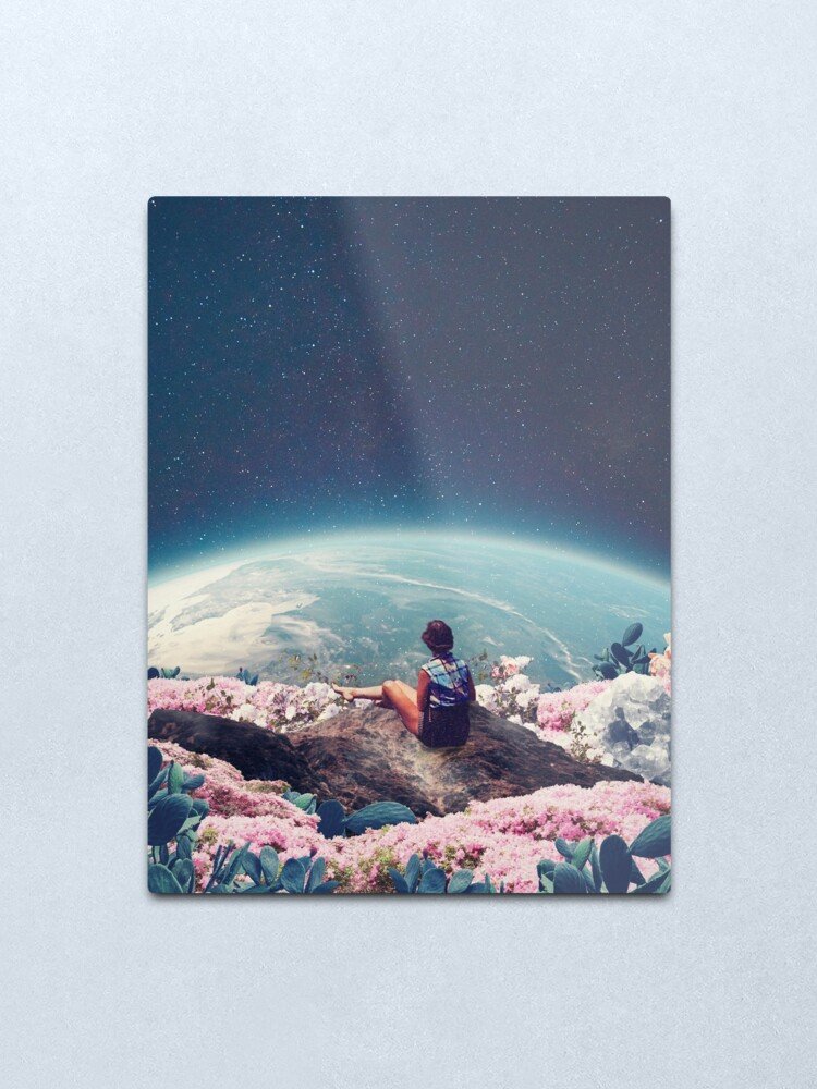 Alternate view of My World Blossomed when I Loved You Metal Print