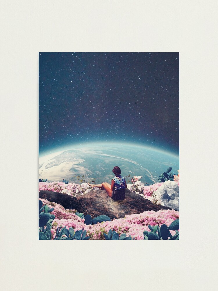 Alternate view of My World Blossomed when I Loved You Photographic Print