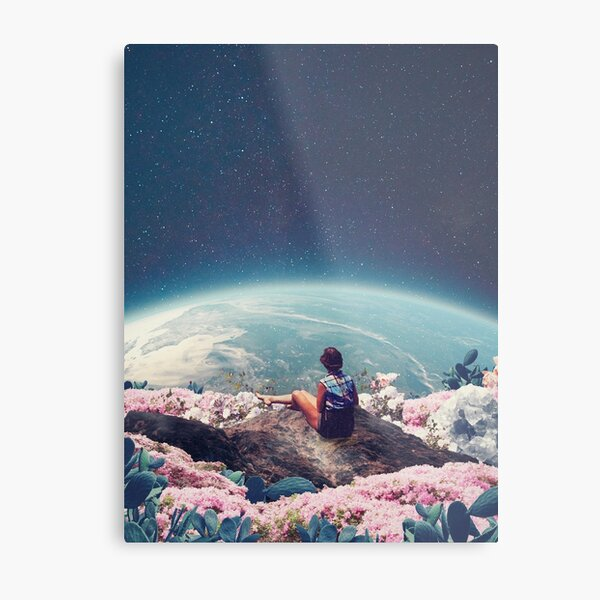 My World Blossomed when I Loved You Metal Print