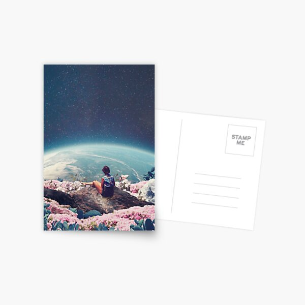 My World Blossomed when I Loved You Postcard