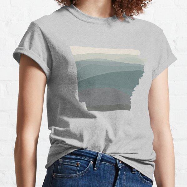 Arkansas The Natural State Landscape Randonnée extérieure Passionné T-shirt classique