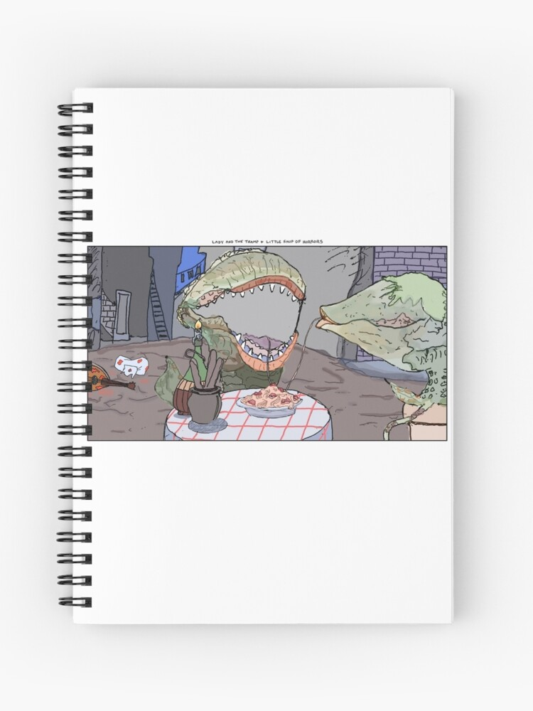 d768919c165 Lady and the Tramp + Little Shop of Horrors | Spiral Notebook