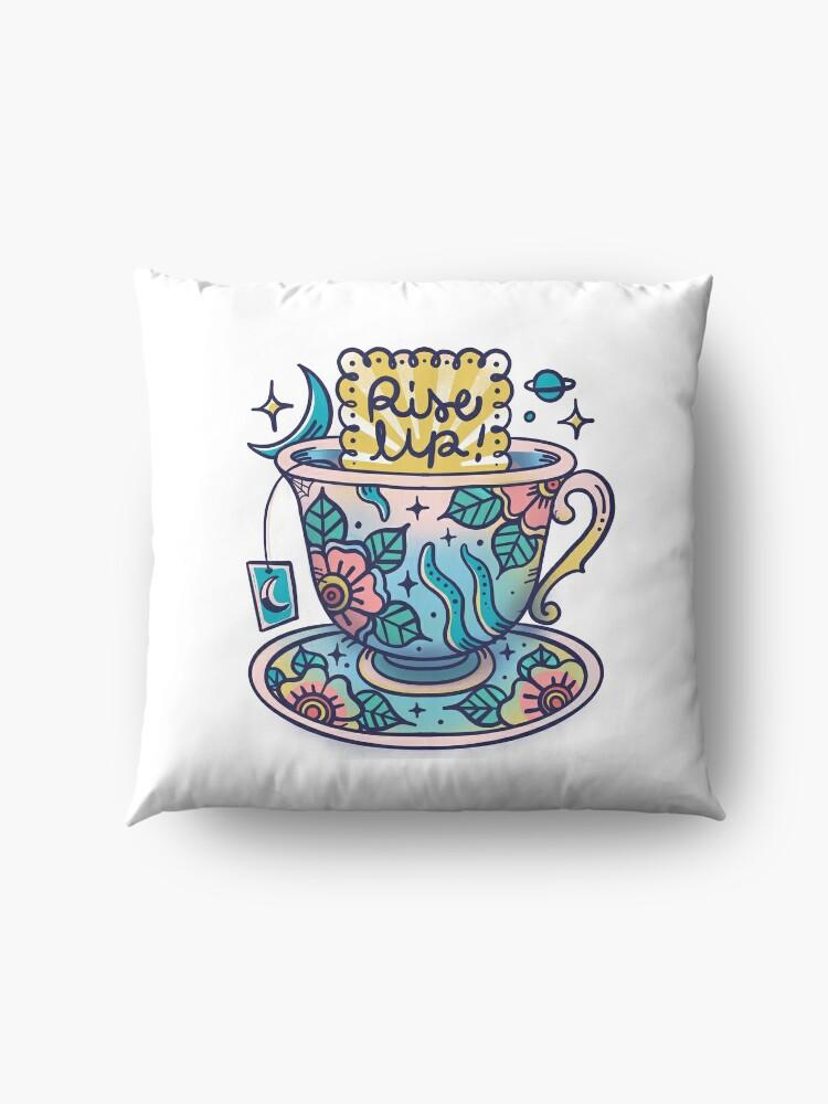 Alternate view of Teacup Floor Pillow