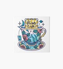 Teacup Art Board Print