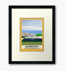 Alnmouth Poster Framed Print