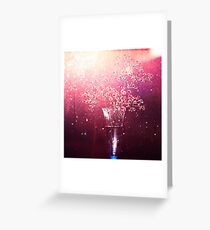 Painted with light. Greeting Card