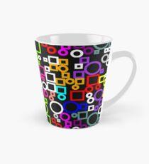 Happy Circles and Squares Tall Mug