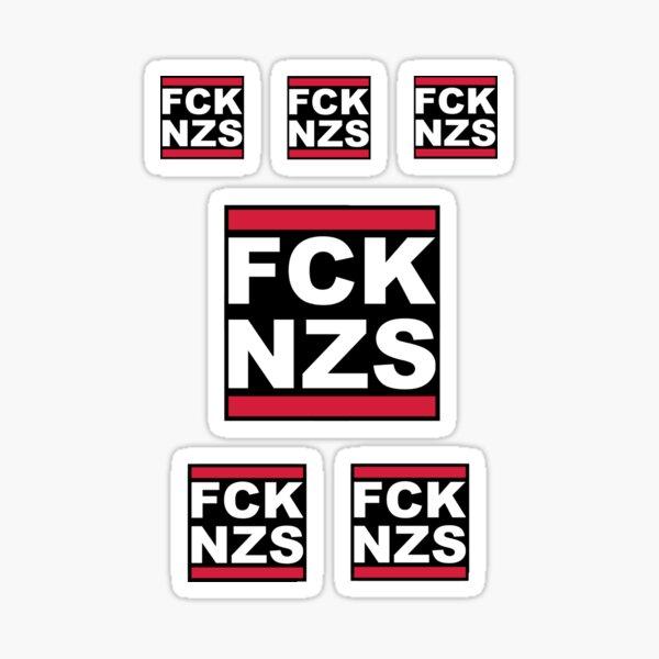 FCK NZS SICKERBOMB (6X Stickers) Sticker