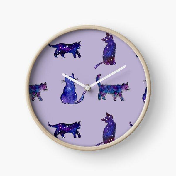 Magical Cat Art Clock