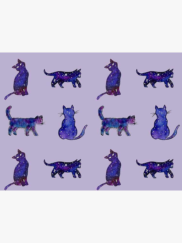 Magical Cat Art by artbylenashop
