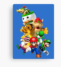 Mario 64 Canvas Print