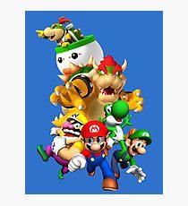 Mario 64 Photographic Print