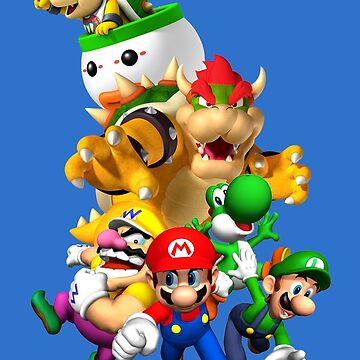 Mario 64 by nostalgicboy