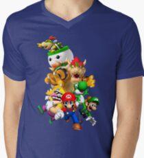 Mario 64 Men's V-Neck T-Shirt
