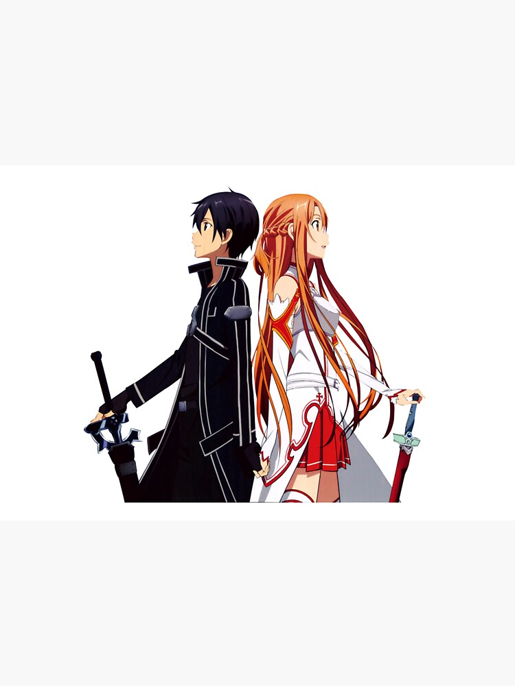Kirito and Asuna kawaii by jessica0lavalle