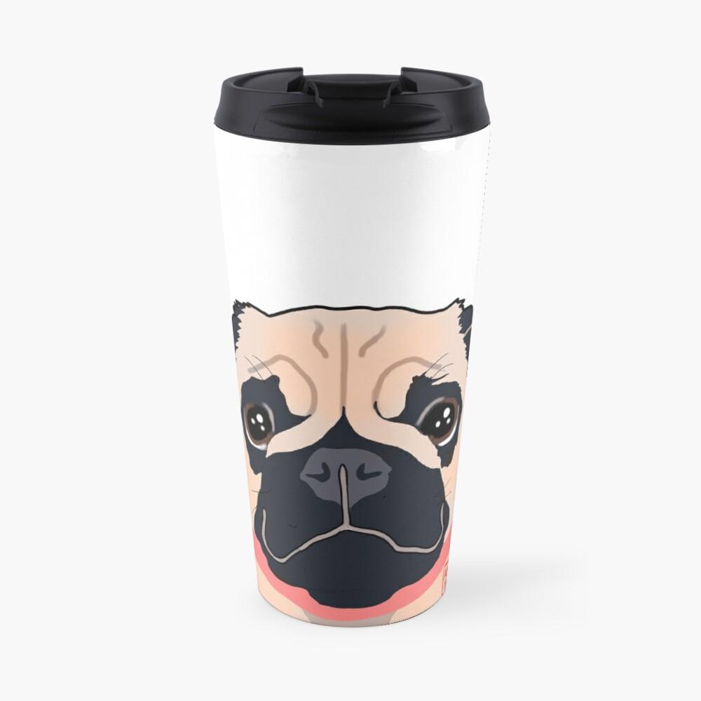 Cutiepug Travel Mug