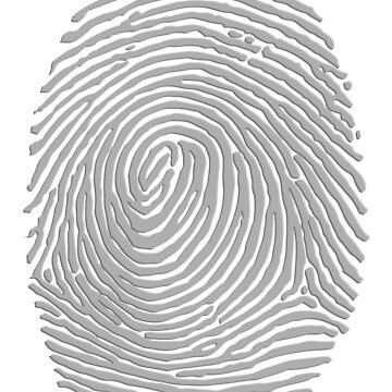 Fingerprint #1 (Light) by BenH4