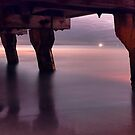 """""""Woodman Point Jetty At 3.00 am"""" by Heather Thorning"""