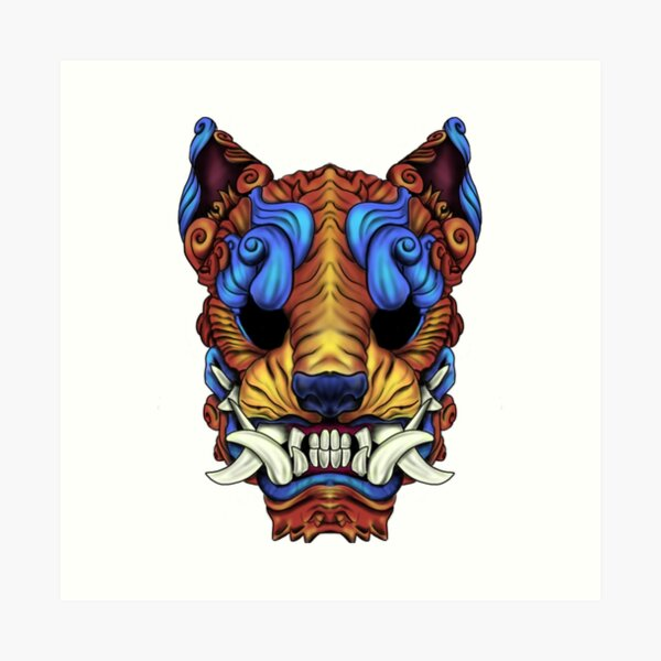 Tiger Tyler Foo Dog Art Print