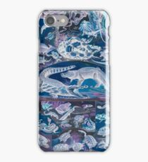 Adolphe Millot Reptile Inverted iPhone Case/Skin
