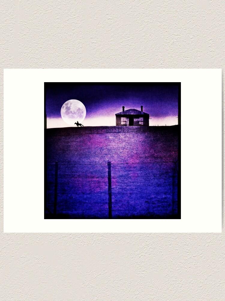 Alternate view of Moon Rider Art Print