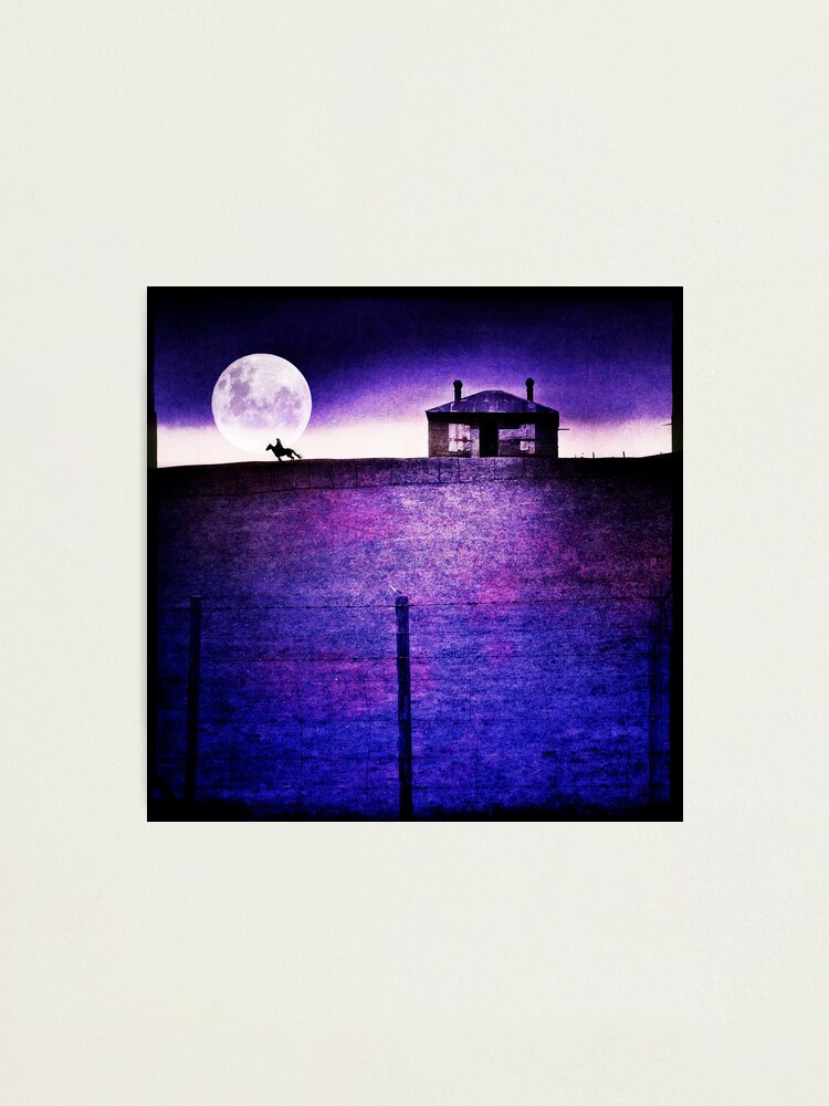 Alternate view of Moon Rider Photographic Print