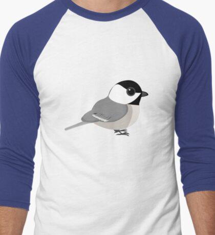 Cutie Chickadee Men's Baseball ¾ T-Shirt