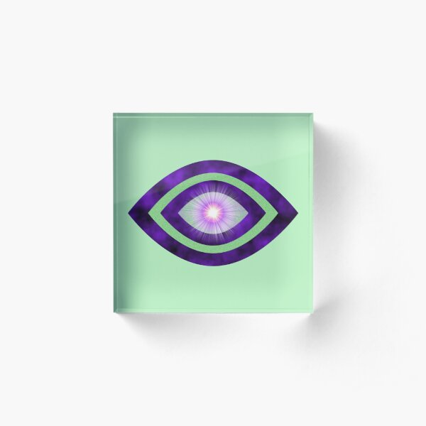 The Mind's Eye Acrylic Block