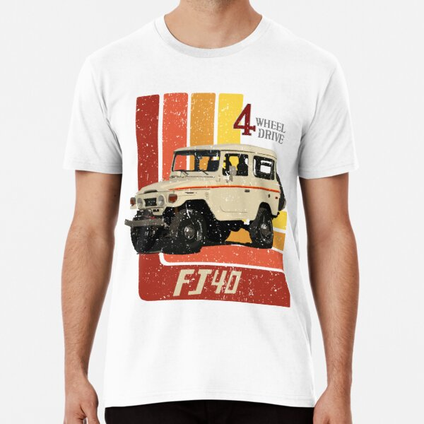 Retro Toyota Land Cruiser FJ40 Premium T-Shirt