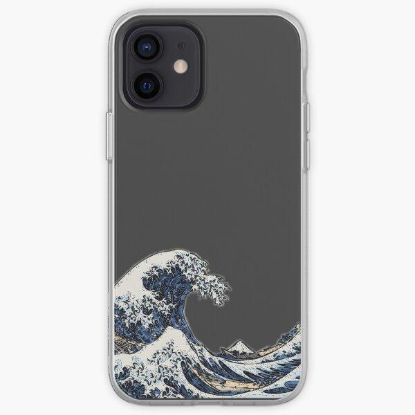 La grande vague au large de Hokusai Kanagawa Japon Coque souple iPhone