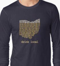 Drink Local - Ohio Beer Shirt Long Sleeve T-Shirt