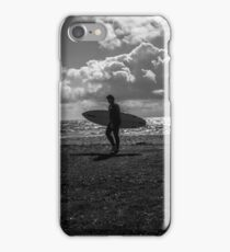 The East Wittering Surfer. iPhone Case/Skin