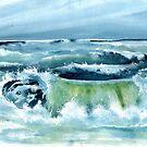 Sehnsucht nach Meer, Wellen und Strand von Bettina Kröger