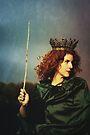 Queen of Wands by Alice  Teeple