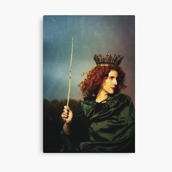 Königin der Zauberstäbe Leinwanddruck