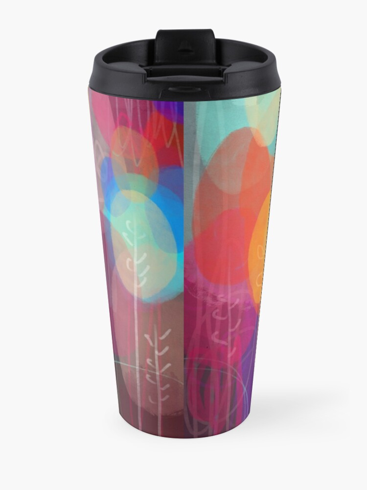 Alternate view of Autumn Trees Travel Mug