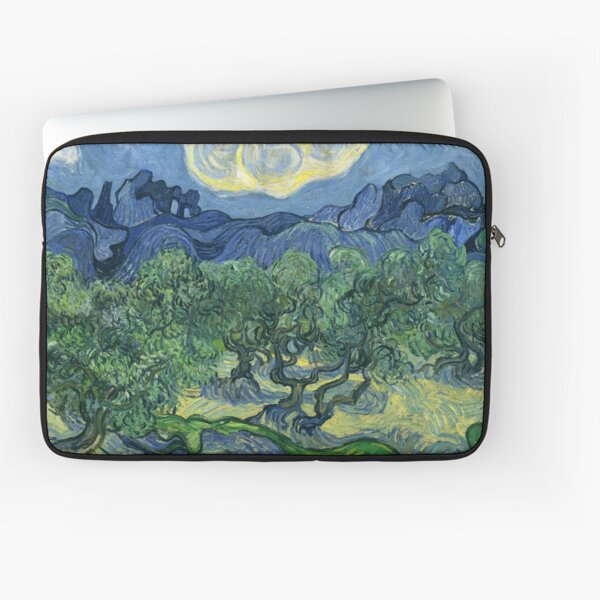 The Olive Trees by Vincent van Gogh Laptop Sleeve