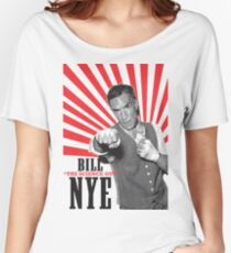 """Bill """"The Science Guy"""" Nye Women's Relaxed Fit T-Shirt"""