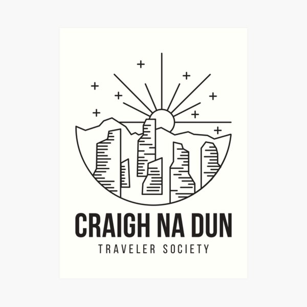 Craigh Na Dun - Outlander Official Merch Art Print