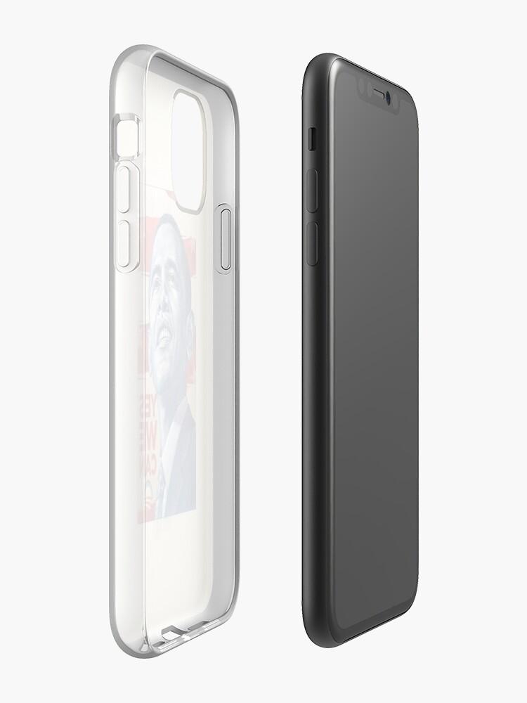 coque apple fausse - Coque iPhone «Oui nous pouvons», par JLHDesign