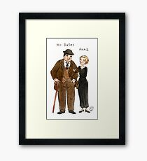 Mr. Bates-Anna Framed Print