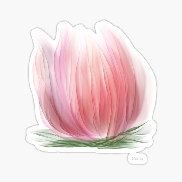 The Water lily Sticker