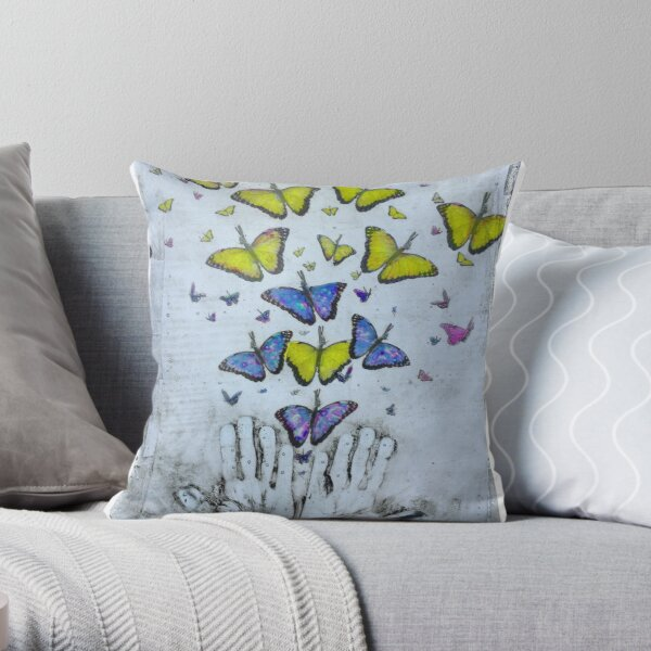 the journey changes us Throw Pillow