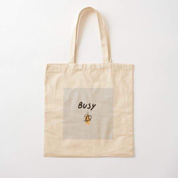 Busy Bee Cotton Tote Bag