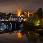 Aylesford at night by JEZ22